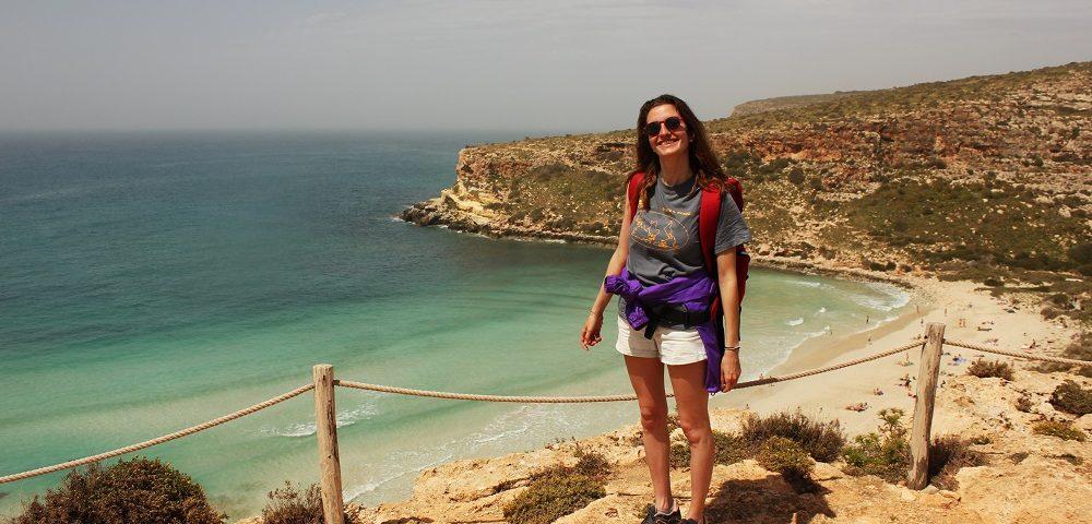 Remote tourism Lampedusa